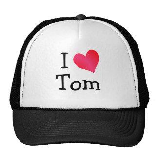 J'aime Tom Casquette De Camionneur