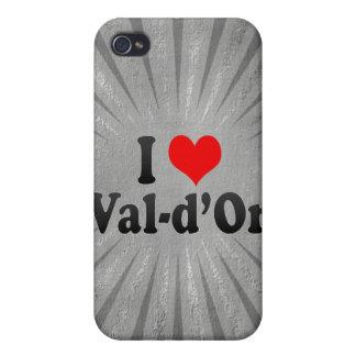 J'aime Val-d'Or, Canada Étui iPhone 4