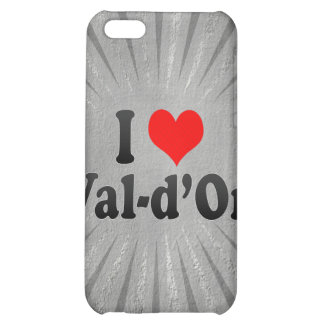 J'aime Val-d'Or, Canada Étui iPhone 5C