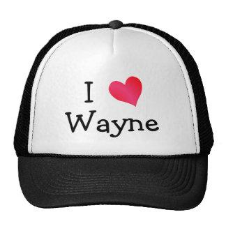 J'aime Wayne Casquette De Camionneur