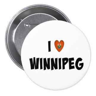 J'aime Winnipeg Badge