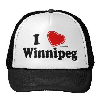 J'aime Winnipeg Casquette Trucker