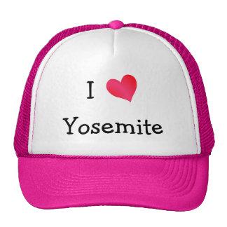 J'aime Yosemite Casquettes De Camionneur