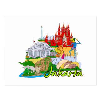 Jakarta - Indonesia.png Carte Postale