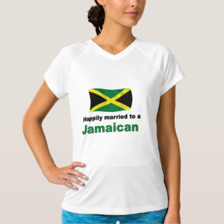 Jamaïcain heureusement marié t-shirt
