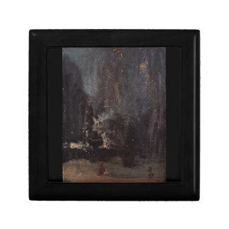 James Abbott McNeill Whistler - nocturne dans le Petite Boîte À Bijoux Carrée