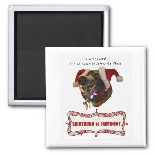 James Garfield pour la sainteté Magnets Pour Réfrigérateur