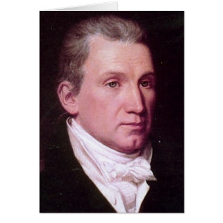 James Monroe Carte De Vœux