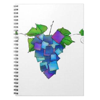 Jamurissa - raisins carrés carnets