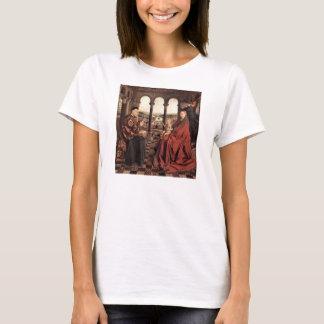 Jan van Eyck - Madonna et chancelier Nicholas Rol T-shirt