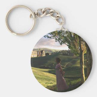 Jane Austen a inspiré le porte - clé d'art de Porte-clé Rond