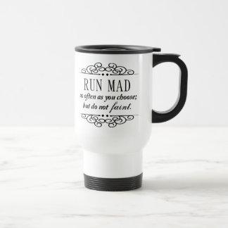 Jane Austen : Courez le café de voyage ou la tasse