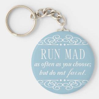 Jane Austen : Ne s'évanouissent pas le porte - clé Porte-clé Rond