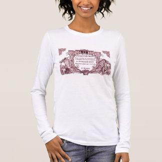 Jane Austen : T-shirt d'invitation de boule de