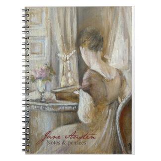 JaneAusten-Notebook © Atelier Flont Carnets À Spirale