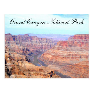 Jante occidentale de parc national de canyon grand carte postale