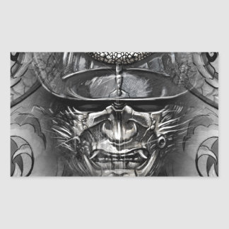 japanese tattoo autocollant rectangulaire