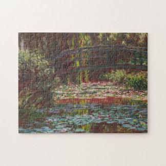 ~ japonais Claude Monet de pont et de nénuphars Puzzle