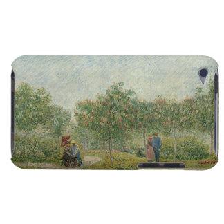 Jardin dans Montmartre avec des amants Coque Barely There iPod