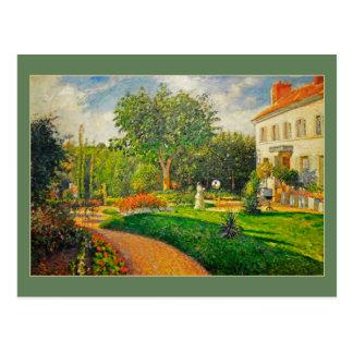 Jardin de Camille Pissaro de Les Maturins Carte Postale