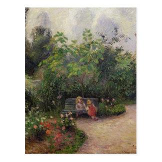 Jardin de Camille Pissarro   à l'ermitage Carte Postale