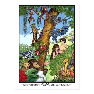 Jardin de carte postale d'Éden