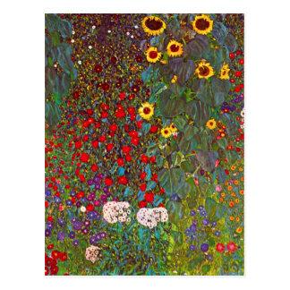 Jardin de ferme de Gustav Klimt avec la carte