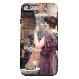 Jardin de Godward de femme de Pompeii Coque iPhone 6 Tough