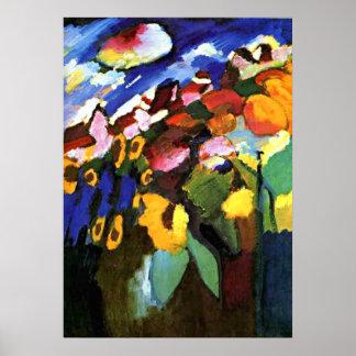 Jardin de Kandinsky - de Murnau Posters