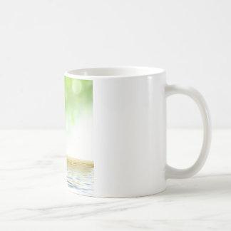 Jardin de l'eau de tranquilité de zen par l'amour  mugs à café