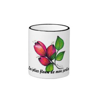 Jardin de Les jolies fleurs de lundi ! tasse
