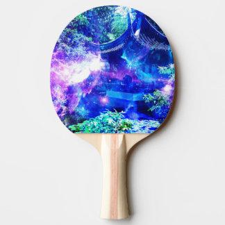 Jardin de sérénité d'Amorem Amisi d'annonce Raquette De Ping Pong