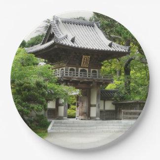 Jardin de thé japonais à San Francisco Assiettes En Papier
