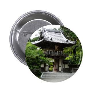Jardin de thé japonais à San Francisco Badges