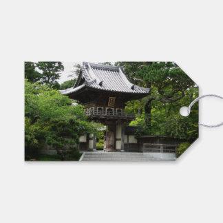 Jardin de thé japonais à San Francisco Étiquettes-cadeau