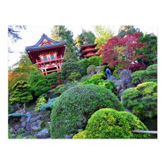 Jardin de thé japonais de San Francisco de carte Cartes Postales