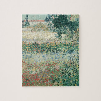 Jardin de Vincent van Gogh   en fleur, Arles, 1888 Puzzle