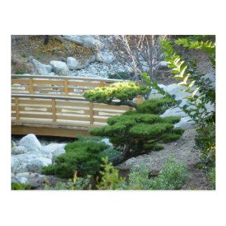 Jardin de zen carte postale