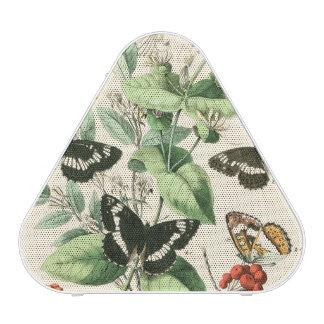 Jardin des papillons et des fleurs haut-parleur bluetooth