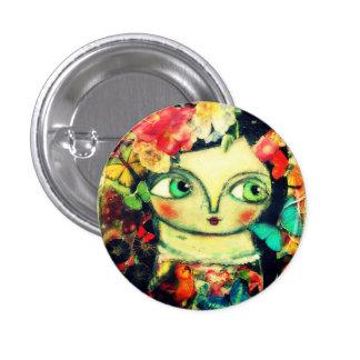 Jardin féerique badge rond 2,50 cm