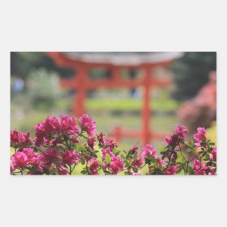 Jardin japonais adhésifs