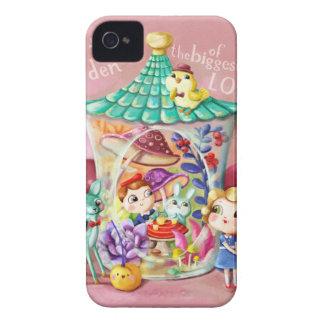 Jardin minuscule du plus grand amour coque iPhone 4