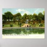 Jardin néerlandais, Van Cortlandt Park, cru de NY Affiches