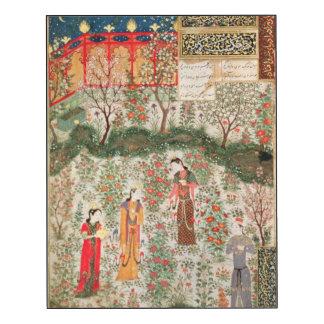 Jardin persan, XVème siècle (la semaine sur le