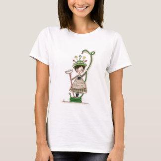 Jardin sur l'aller - T-shirt de dames