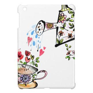 Jardinage de fleur de arrosage de jardin coque iPad mini