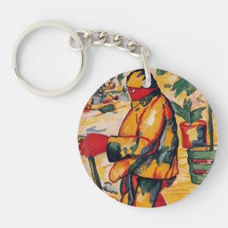 Jardinier de Kazimir Malevich- Porte-clef