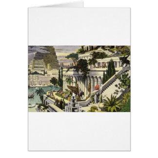 Jardins accrochants de Babylone par Maerten van Cartes