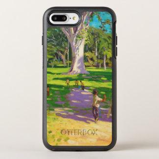 Jardins botaniques Dominique de match de cricket Coque Otterbox Symmetry Pour iPhone 7 Plus