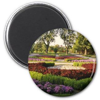 Jardins botaniques, les annuaires, Montréal, C Magnet Rond 8 Cm